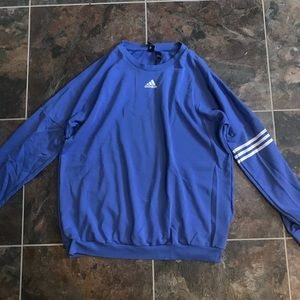 Blue Adidas Sweatshirt